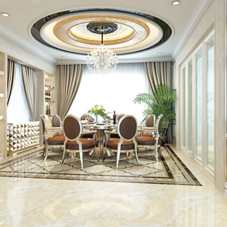 glazed porcelain flooring tiles