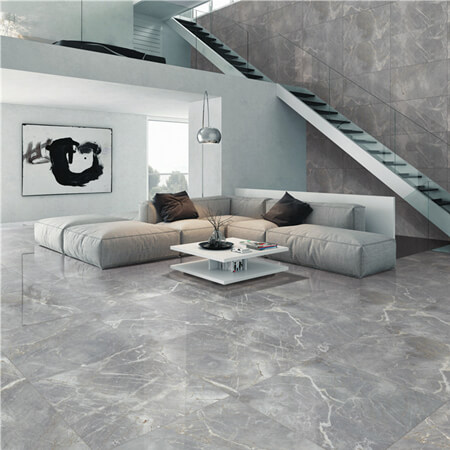 grey tile marble