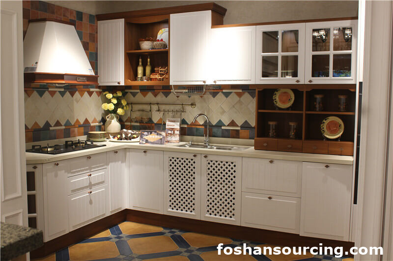 Foshan high quality cheap kitchen cabinets