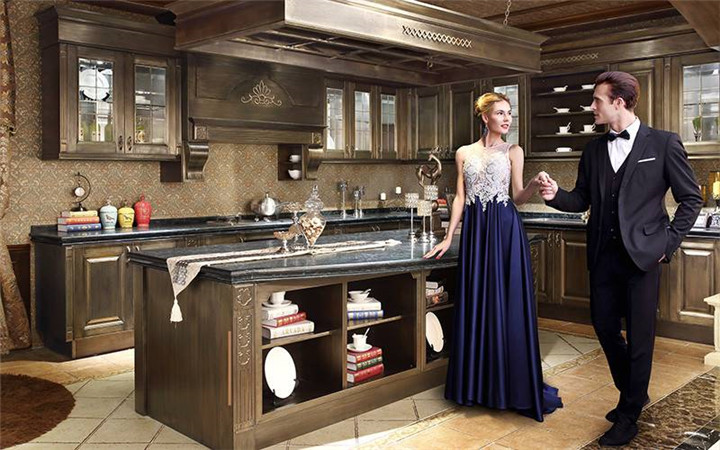 Chinese 304 stainless steel kitchen cabinet