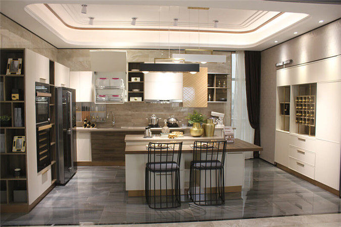 Chinese plywood kitchen cabinet