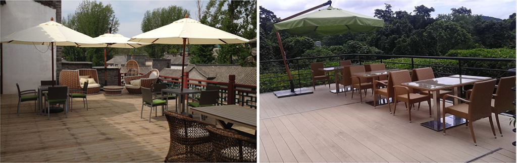 patio sets and umbrella